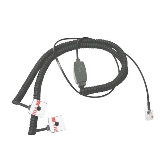 Senseur double câble extensible plug 6