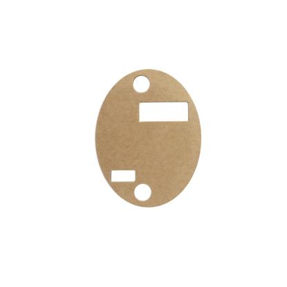 Adhésif ovale pour support sur rail   souris x8