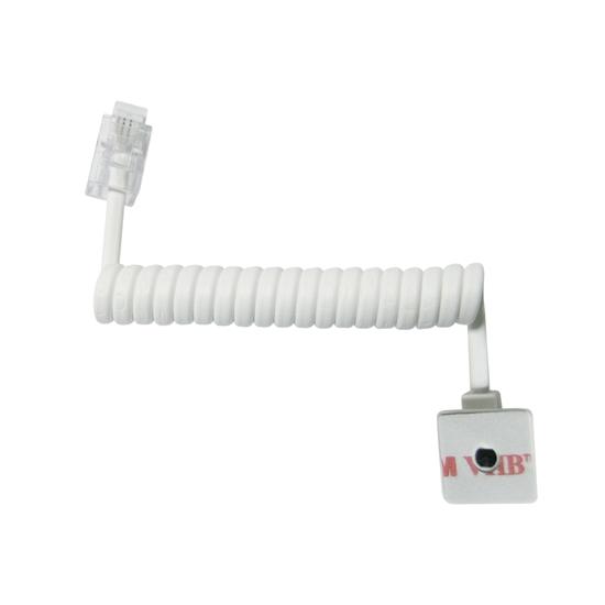 Micro détecteur fil extensible plug 4 - 10cm