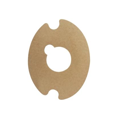Adhésif ovale pour support tablette  x8