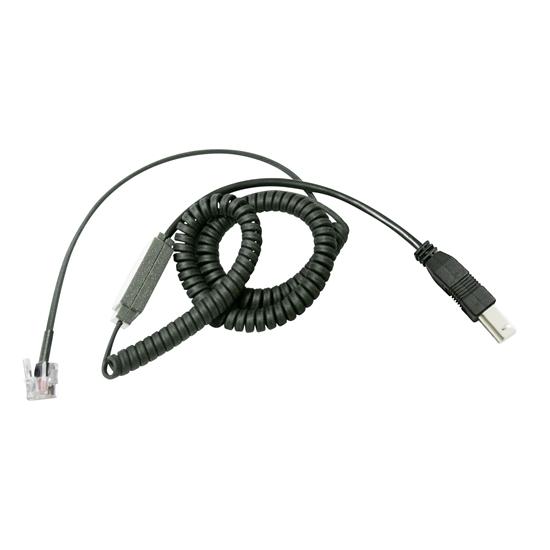Senseur USB type B 200 cm fil extensible plug 6