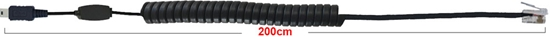 Senseur micro USB 200 cm fil extensible plug 4