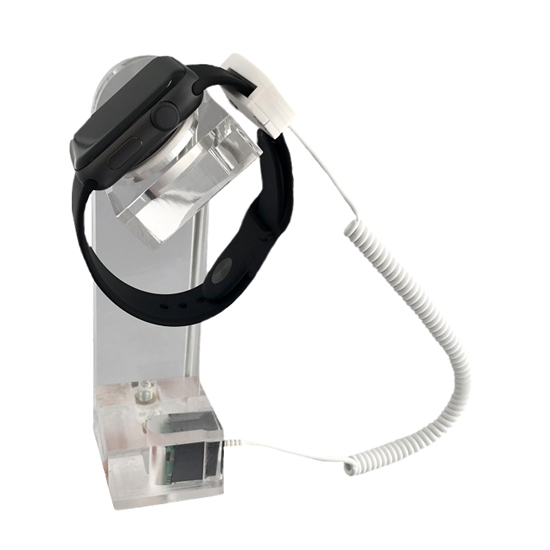 Support montre transparent pour Apple  sans chargeur apple